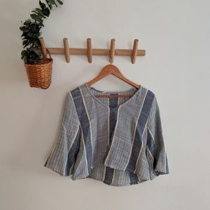 Urban Outfitters Boho Crop Shirt